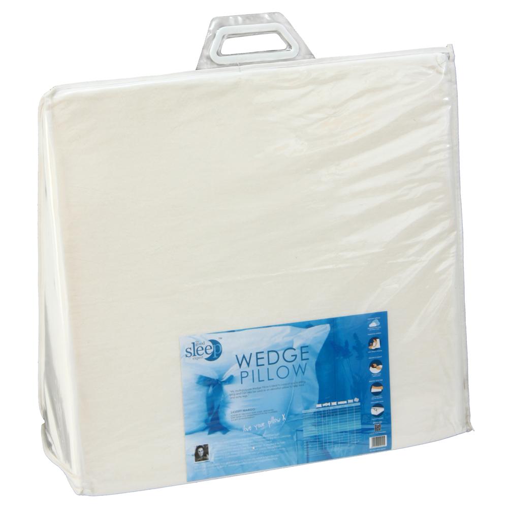 wedge pillow from the good sleep expert ebay