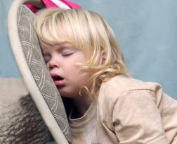 kids bedroom ideas child asleep on chair good sleep expert