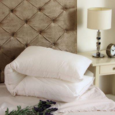 The Good Sleep Expert Multi-Purpose Bolster Pillow Pregnancy on Bed
