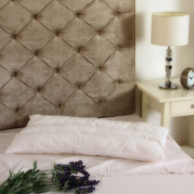 The Good Sleep Expert Multi-Purpose Slim Pillow on Bed