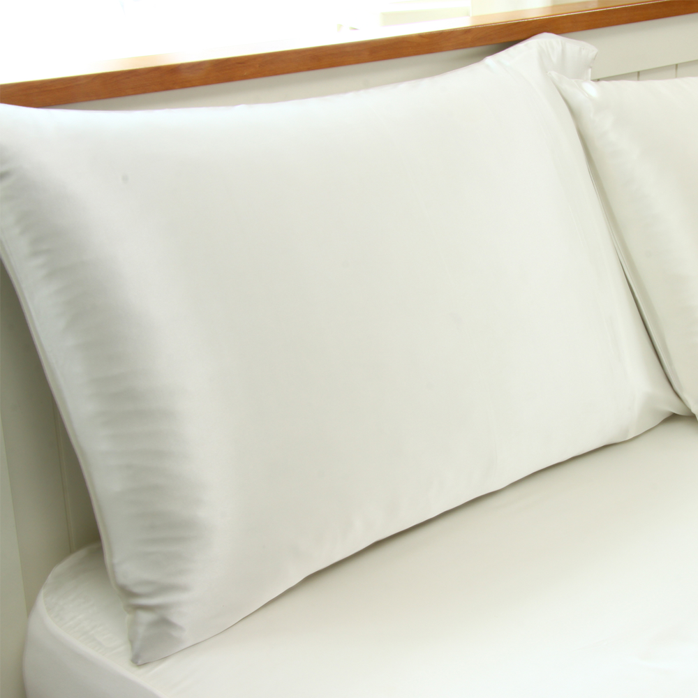 Fitted Silk Sheet And Pillowcase Set