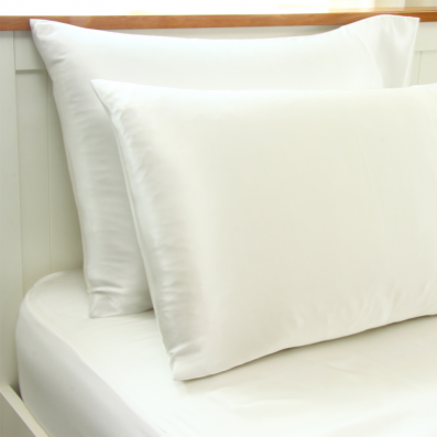 Silk Fitted Sheet And Pillow Cases 2